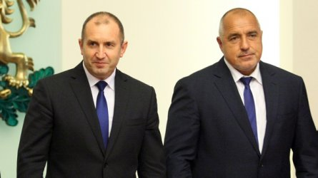Борисов иска помирение, Радев – истината за корупцията