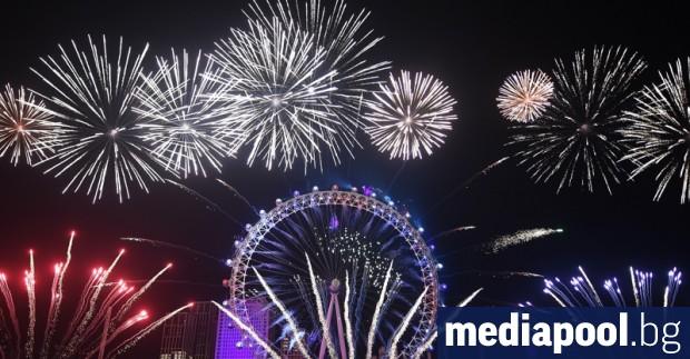 Без традиционните фойерверки ще посрещне Лондон тази нова година. Традиционното