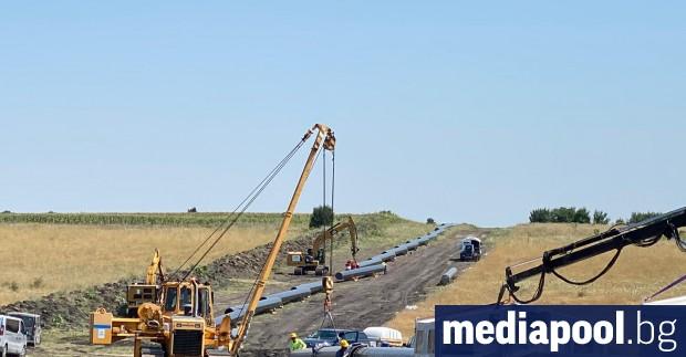 Междусистемната връзка на гръцката и българската газова мрежа чрез 182-километровото