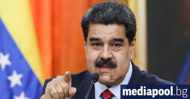 Съединените щати налагат санкции на венецуелския президент Николас Мадуро във