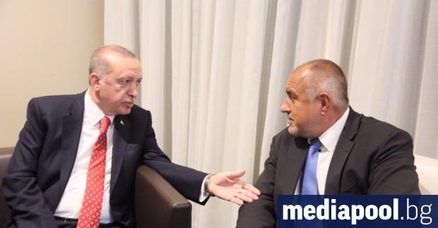Премиерът Бойко Борисов е разговарял във вторник вечерта с турския