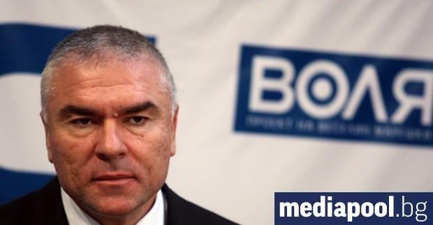 The Deputy Speaker of Parliament and leader of VOLYA Vesselin