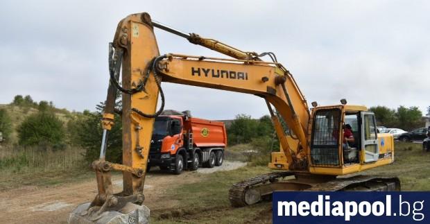 Започна рехабилитацията на 46.7 км от второкласния път Русе –