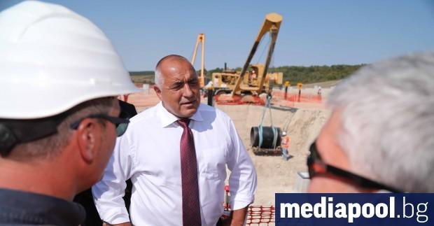Премиерът Бойко Борисов обяви, че строежът на продължението на руския