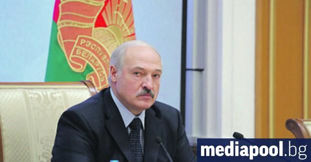 Беларуският президент Александър Лукашенко, в чиято страна продължават безпрецедентни масови