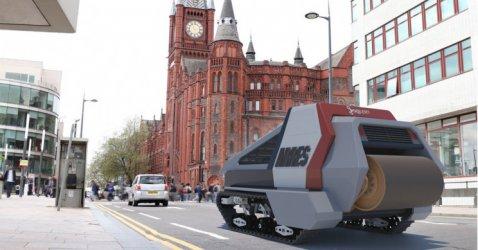 Роботи срещу дупките по пътищата във Великобритания