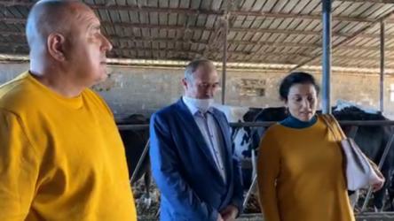 Борисов от кравеферма: Всеки трябва да усети подкрепата на държавата срещу коронакризата