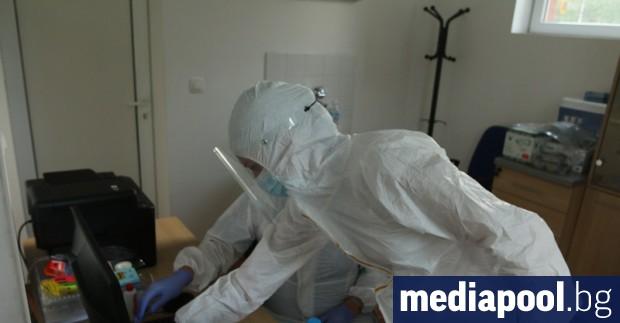 Нови 998 случая на коронавирус бяха регистрирани в събота при