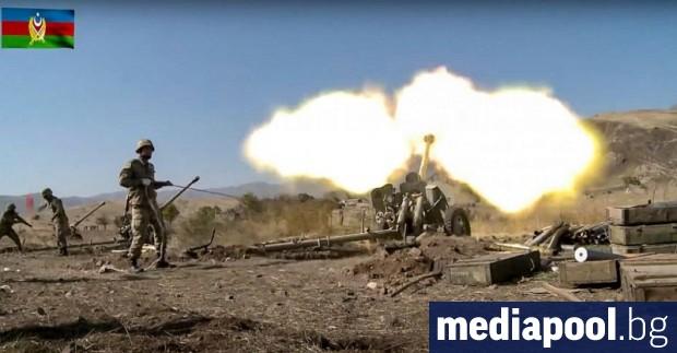 Боевете между Азербайджан и Армения за Нагорни Карабах продължават и