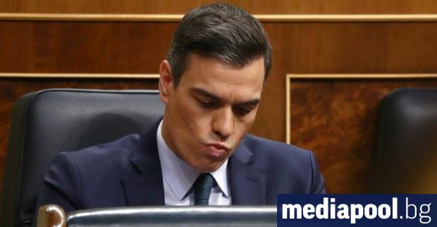 Испанският парламент днес отхвърли предложението за вот на недоверие към