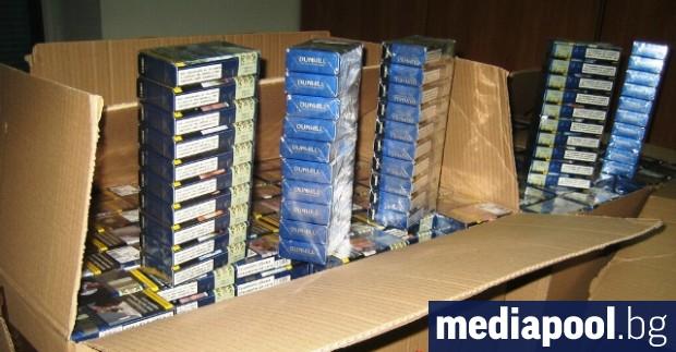 Незаконната търговия с цигари у нас продължава да намалява през