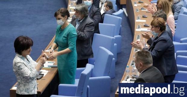 Председателят на Народното събрание Цвета Караянчева (ГЕРБ), която ДПС нарече