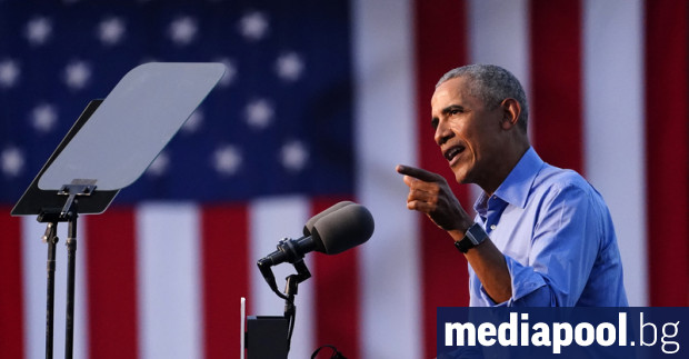 Бившият президент на САЩ Барак Обама се включи в сряда