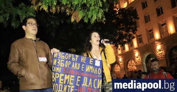 На 106-ия ден на антиправителствения протест се присъединиха и студенти