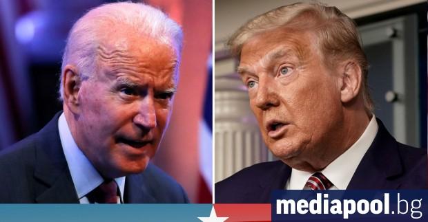 Кандидатът на демократите за президент на САЩ Джо Байдън изглежда