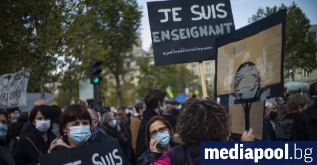 Убиецът на френския учител по история Самюел Пати изпратил аудио
