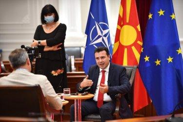 """Зоран Заев: Договорът с България ще бъде закон, """"Дълбоката държава"""" е във ВМРО-ДПМНЕ"""