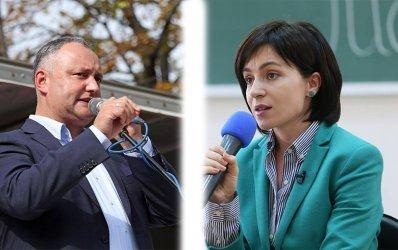 Опозиционерката Мая Санду печели президентските избори в Молдова