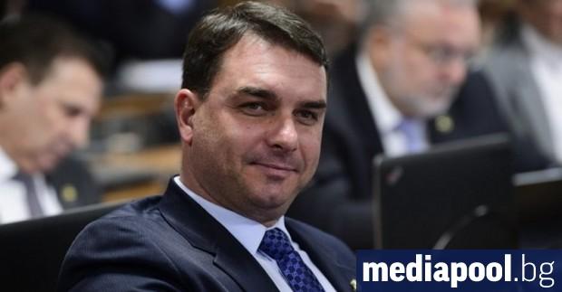 Флавио Болсонаро, най-големият син на бразилския президент Жаир Болсонаро, е