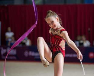Български гимнастички с 3 медала от Европейското първенство в Киев