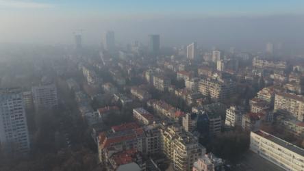 Опасно мръсен въздух в София и днес