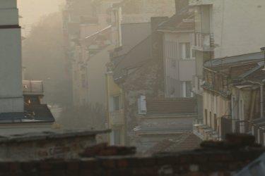 Въздухът в София е замърсен в пъти над нормата