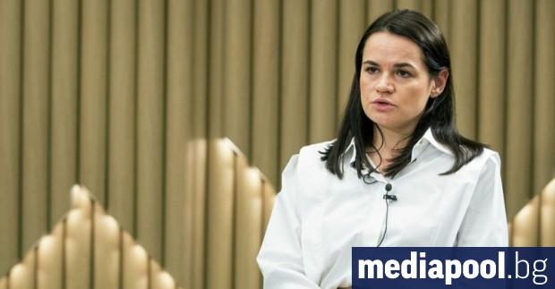 Поддръжници на беларуския опозиционен лидер в емиграция Светлана Тихановска обявиха,