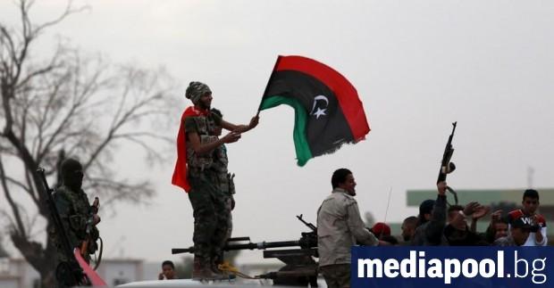 Във фронтовия либийски град Сирт, части от който все още