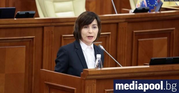 Избраната за президент на Молдова Мая Санду се обяви за