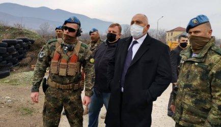 """Борисов нагледа строежа на комплекса за специалните сили в """"Црънча"""""""