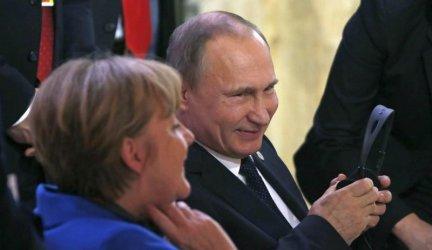 Путин очаква от Меркел по-добри отношения