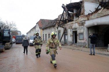 Вторичните трусове в Хърватия продължават