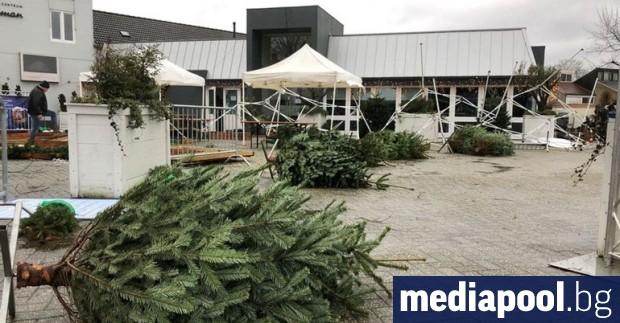 Хиляди хора останаха без електричество във Франция в резултат на