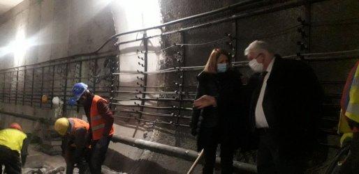 Авариралият участък от новата линия на метрото ще е извън строя неопределено време (Обновена)