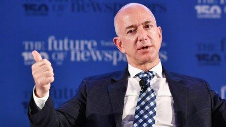 Джеф Безос се оттегля от поста главен изпълнителен директор на Амазон
