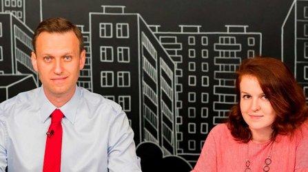 Руски съд постанови домашен арест за говорителката на Навални и глоба за съпругата му