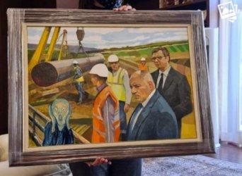 """Авторът на картината от """"Балкански поток"""": Това не е соцреализъм, това е реализъм"""