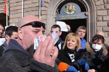 Протест поиска оставки заради неизплатени Covid-помощи на спрени бизнеси