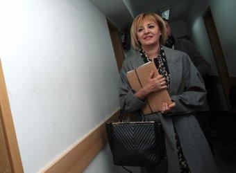 Манолова подкрепи Радев, в ГЕРБ не очаквали той да се кандидатира пак