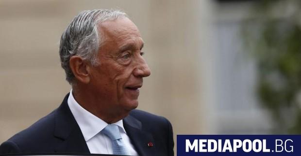 Действащият президент на Португалия, умереният консерватор Марселу Ребелу де Соуза