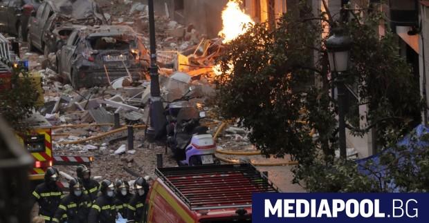 Жертвите при експлозията в Мадрид вече са четири, като сред