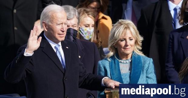 46-ият президент на САЩ Джоузеф Байдън положи клетва и встъпи
