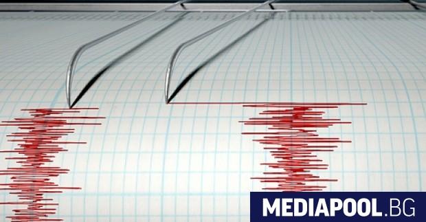 Земетресение с магнитуд 4.5 по скалата на Рихтер разтърси рано
