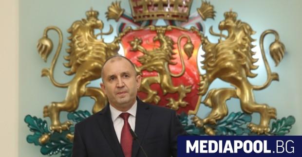 President Roumen Radev confirmed yesterday that he will be running