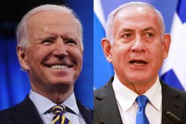 Първи телефонен разговор между Байдън и Нетаняху