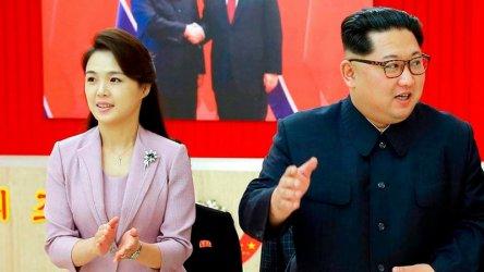 Съпругата на Ким Чен-ун се появи публично за пръв път от една година