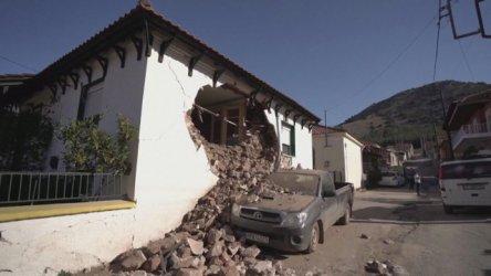 Над 100 вторични труса след земетресението от 6.2 по Рихтер в Гърция