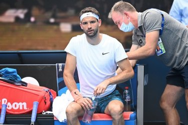 Контузен Григор Димитров допусна обрат и отпадна от Australian Open