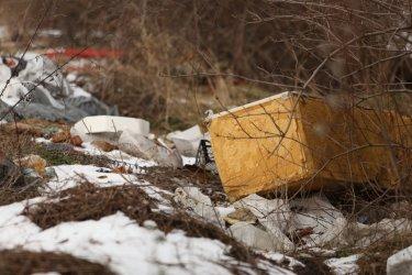 Сметище и край минералния извор в Княжево (Снимки)