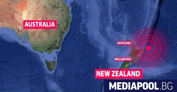Земетресение с магнитуд от 6,9 бе регистрирано днес край бреговете